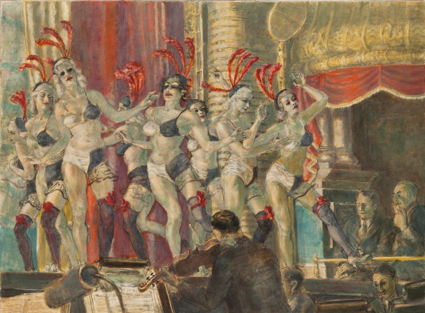 Minskys Chorus Reginald Marsh 1935